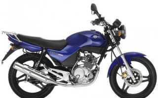 Мотоцикл 125BKX (1989): технические характеристики, фото, видео