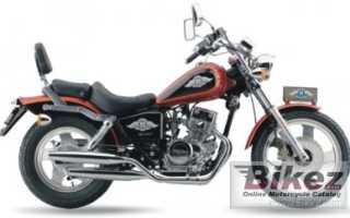 Мотоцикл BD 150-3 (2007): технические характеристики, фото, видео