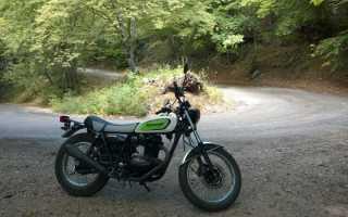 Мотоцикл TR250 (1968): технические характеристики, фото, видео