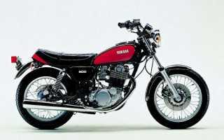 Мотоцикл SR500 (1976): технические характеристики, фото, видео