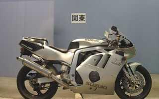 Мотоцикл GSX-R400R (1990): технические характеристики, фото, видео