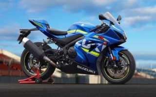 Мотоцикл GSX-R1000 (2005): технические характеристики, фото, видео