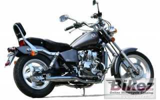 Мотоцикл Regal-Raptor 125 Silverhawk (2008): технические характеристики, фото, видео