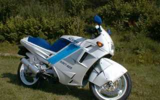 Мотоцикл 400 Dark Sport (1990): технические характеристики, фото, видео