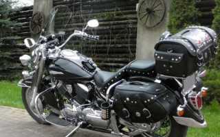 Мотоцикл XVS1100A Drag Star Classic (2000): технические характеристики, фото, видео