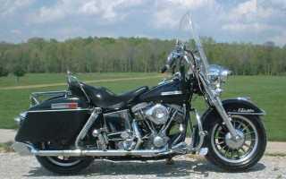Мотоцикл FLH 1200 Electra Glide (1976): технические характеристики, фото, видео