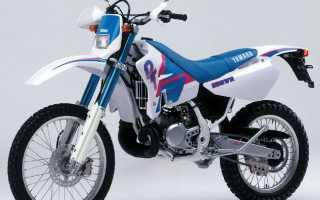 Мотоцикл DT200WR (1992): технические характеристики, фото, видео