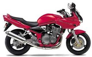 Мотоцикл GSF600N Bandit (2000): технические характеристики, фото, видео