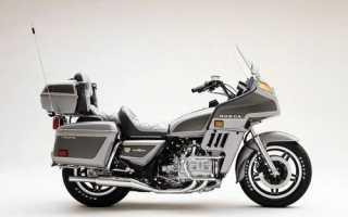 Мотоцикл GL1100 Goldwing Interstate (1980): технические характеристики, фото, видео