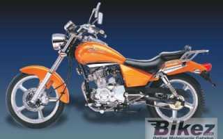 Мотоцикл Blue Note 125 (2009): технические характеристики, фото, видео