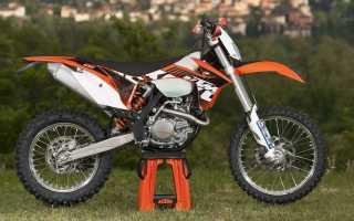 Мотоцикл 450EXC (2011): технические характеристики, фото, видео