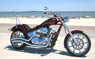 Мотоцикл VT1300 Fury (VT1300CX) (2010): технические характеристики, фото, видео