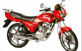 Мотоцикл RL125 (2008): технические характеристики, фото, видео