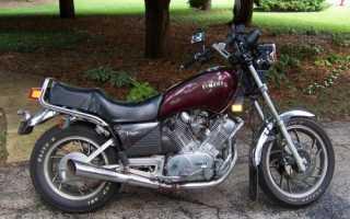 Мотоцикл XV920J Virago (1982): технические характеристики, фото, видео