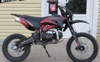 Мотоцикл TTR 125: технические характеристики, фото, видео