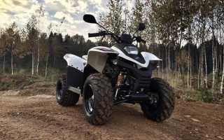 Мотоцикл ATV 100 (2009): технические характеристики, фото, видео