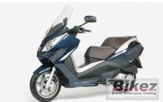 Мотоцикл Satelis 125 Avenue (2010): технические характеристики, фото, видео