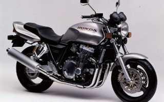 Мотоцикл CB 1000 Super Four 1992 (Japan): технические характеристики, фото, видео