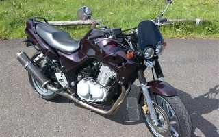 Мотоцикл CB 500 S 1997: технические характеристики, фото, видео