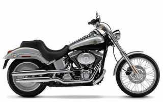Мотоцикл FXSTDSE Screamin' Eagle Softail Deuce (2003): технические характеристики, фото