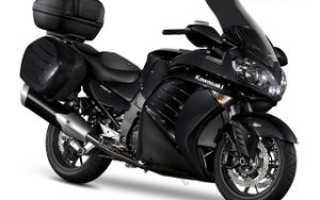 Мотоцикл 1400GTR: технические характеристики, фото, видео