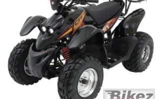 Мотоцикл ATV XT 50 (2009): технические характеристики, фото, видео