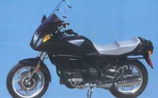 Мотоцикл K75RT (1990): технические характеристики, фото, видео
