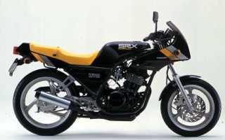 Мотоцикл SRX250 (1984): технические характеристики, фото, видео
