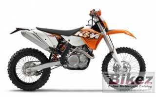 Мотоцикл 400EXC (2011): технические характеристики, фото, видео