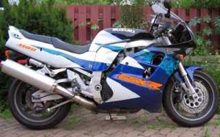 Мотоцикл GSX-R1100 (1987): технические характеристики, фото, видео