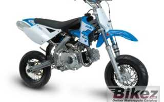 Мотоцикл XP 4T Minimotard (2010): технические характеристики, фото, видео