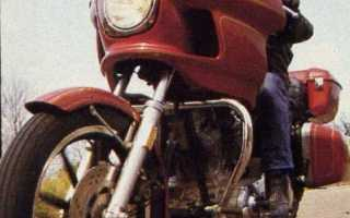 Мотоцикл FXRT 1340 Sport Glide (1983): технические характеристики, фото, видео