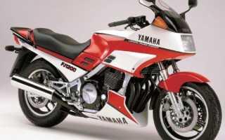 Мотоцикл FJ1200 (1989): технические характеристики, фото, видео