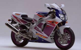 Мотоцикл YZF 750SP 1993: технические характеристики, фото, видео