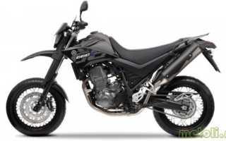 Мотоцикл XT 660 R Supermotard: технические характеристики, фото, видео