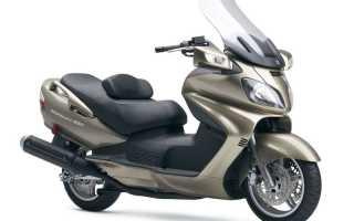 Мотоцикл AN650 Burgman (2002): технические характеристики, фото, видео