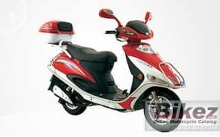 Мотоцикл JL 125 T-33 (2008): технические характеристики, фото, видео