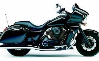Мотоцикл VN1700 Voyager Custom: технические характеристики, фото, видео