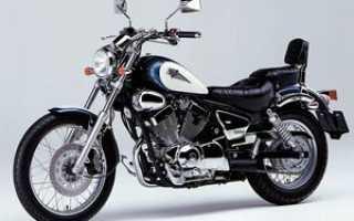 Мотоцикл XV 250 Virago S 1990: технические характеристики, фото, видео