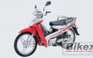 Мотоцикл Active SR 125 E3 (2010): технические характеристики, фото, видео