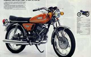 Мотоцикл RD 200 (1973): технические характеристики, фото, видео