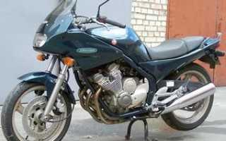 Мотоцикл XJ400S Diversion: технические характеристики, фото, видео