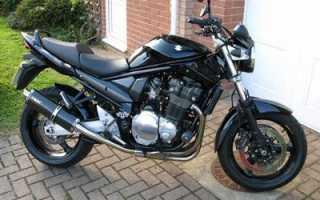 Мотоцикл GSF1200N Bandit ABS (2001): технические характеристики, фото, видео