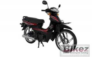 Мотоцикл Cup 100 SFC Snappy X (2012): технические характеристики, фото, видео