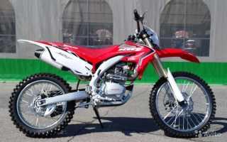 Мотоцикл CRF250R (2004): технические характеристики, фото, видео