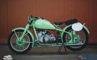 Мотоцикл TM75L Mini Cross (1974): технические характеристики, фото, видео
