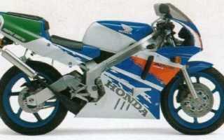 Мотоцикл NSR250SE (NC21) (1992): технические характеристики, фото, видео