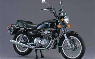 Мотоцикл CB750 Hondamatic (1977): технические характеристики, фото, видео
