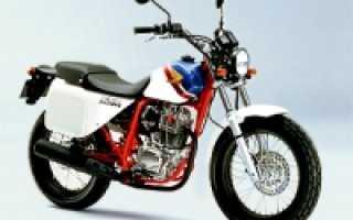 Мотоцикл FTR225 (1999): технические характеристики, фото, видео