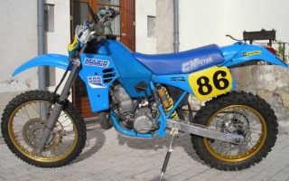 Мотоцикл 500K4 Enduro (1982): технические характеристики, фото, видео